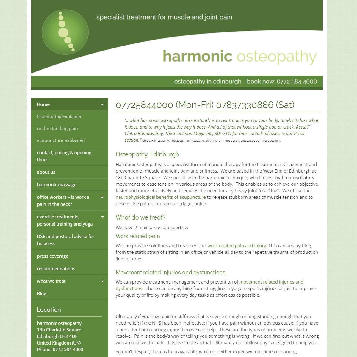 harmonicosteopathy