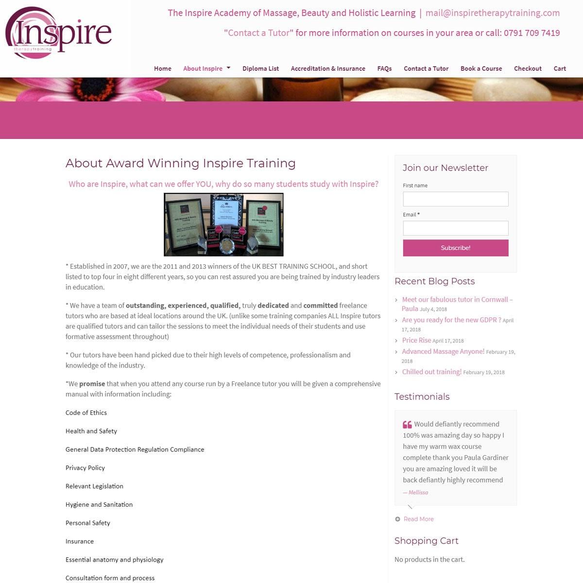 inspiretherapytraining