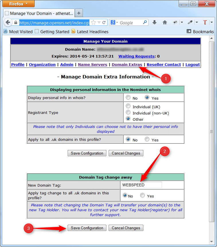 how to transfer your domain away from vistaprint healthhosts web