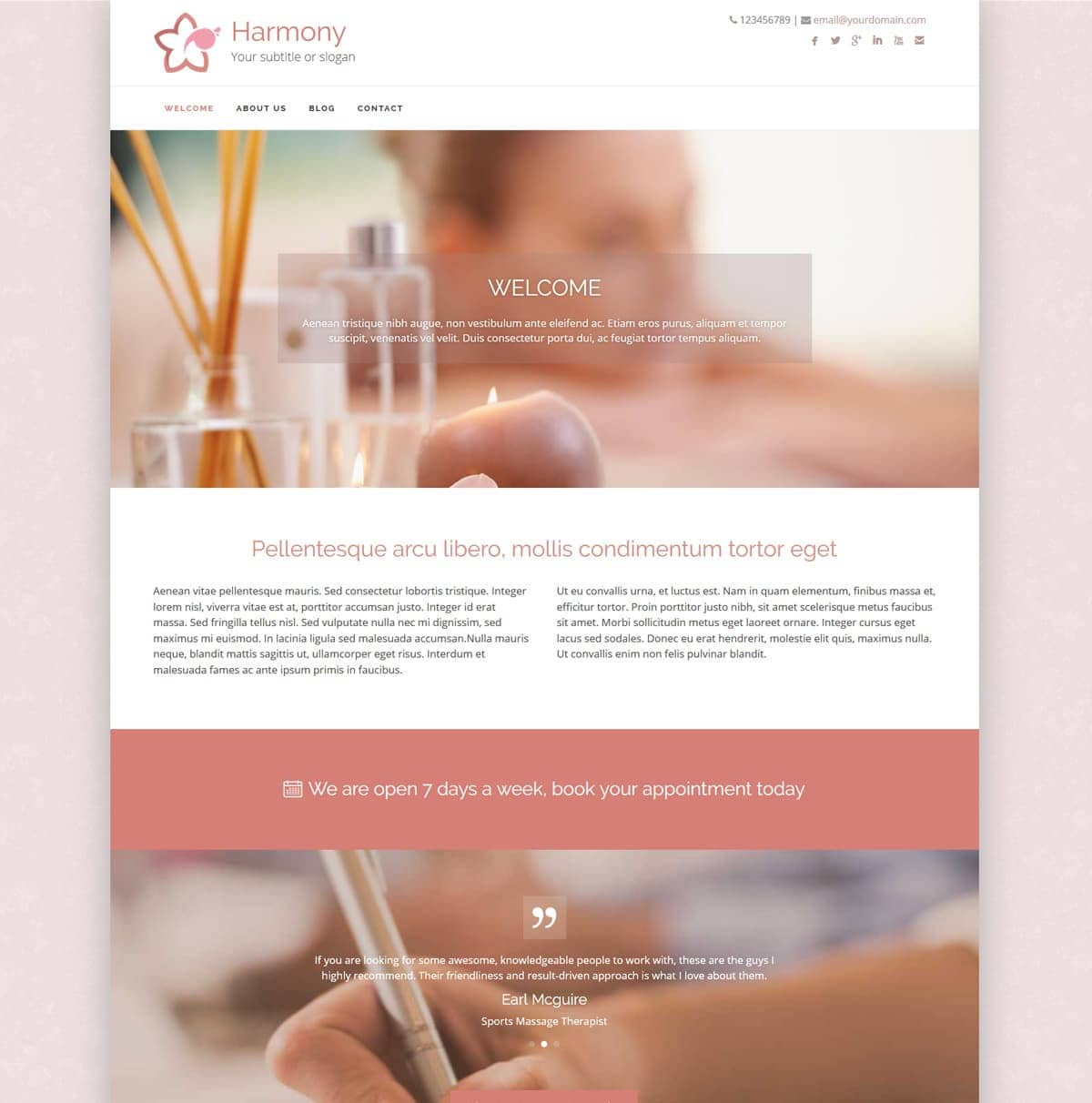 Harmony Healthhosts Web Design For Therapists