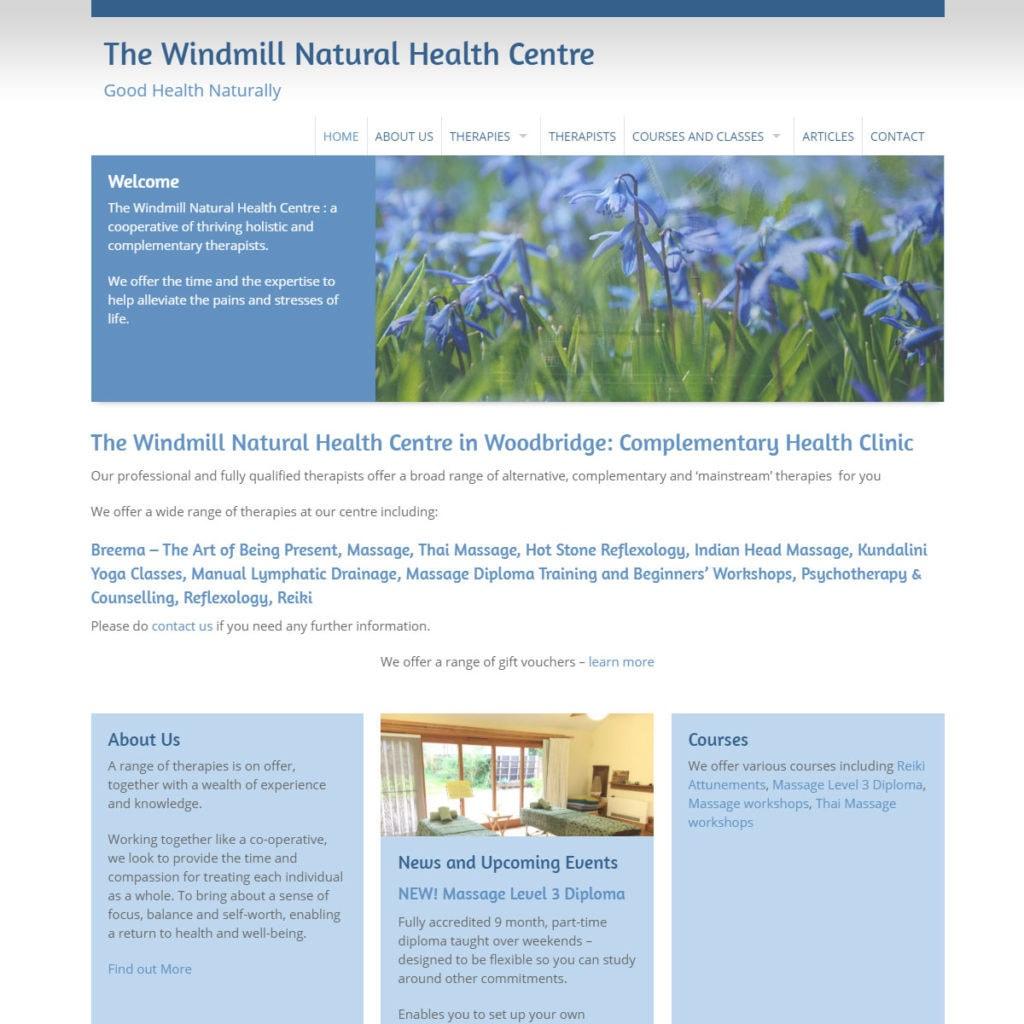 Yoga Website Design - HealthHosts - Websites for Therapists