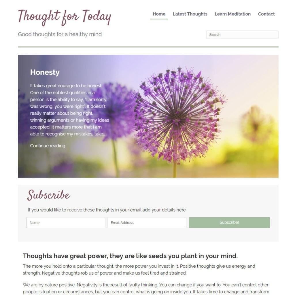 thoughtfortoday