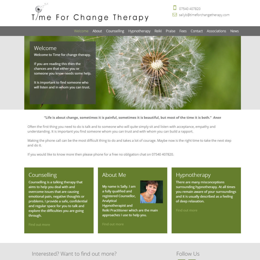 timeforchangetherapy
