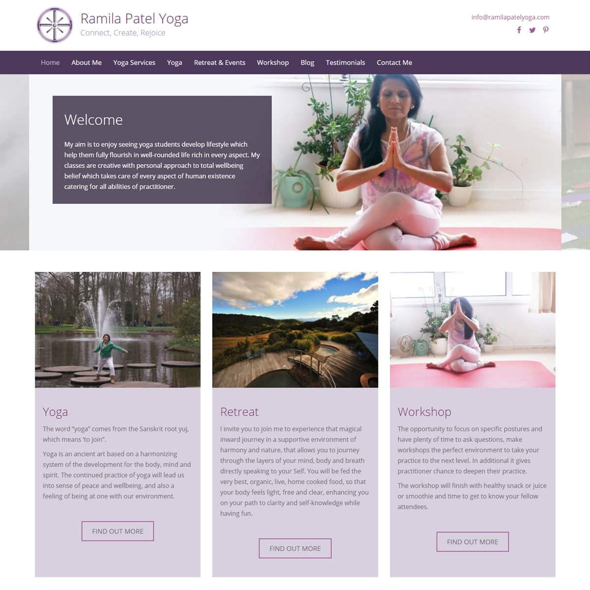 Yoga Website Design Healthhosts Websites For Therapists