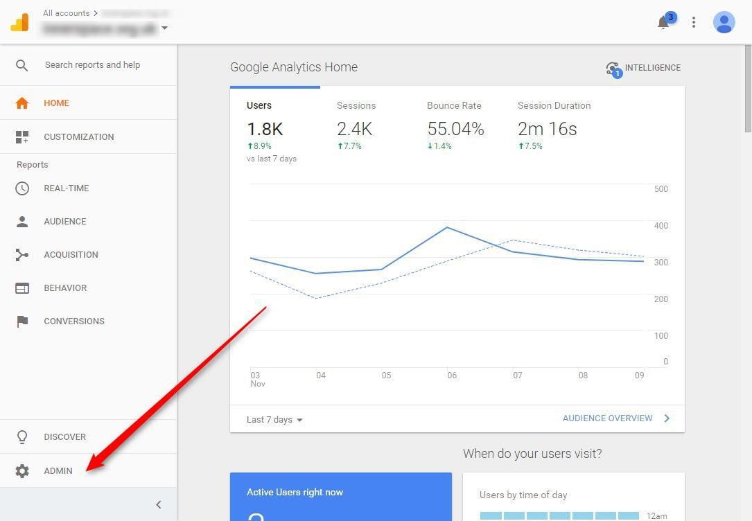 google-analytics-adminarea