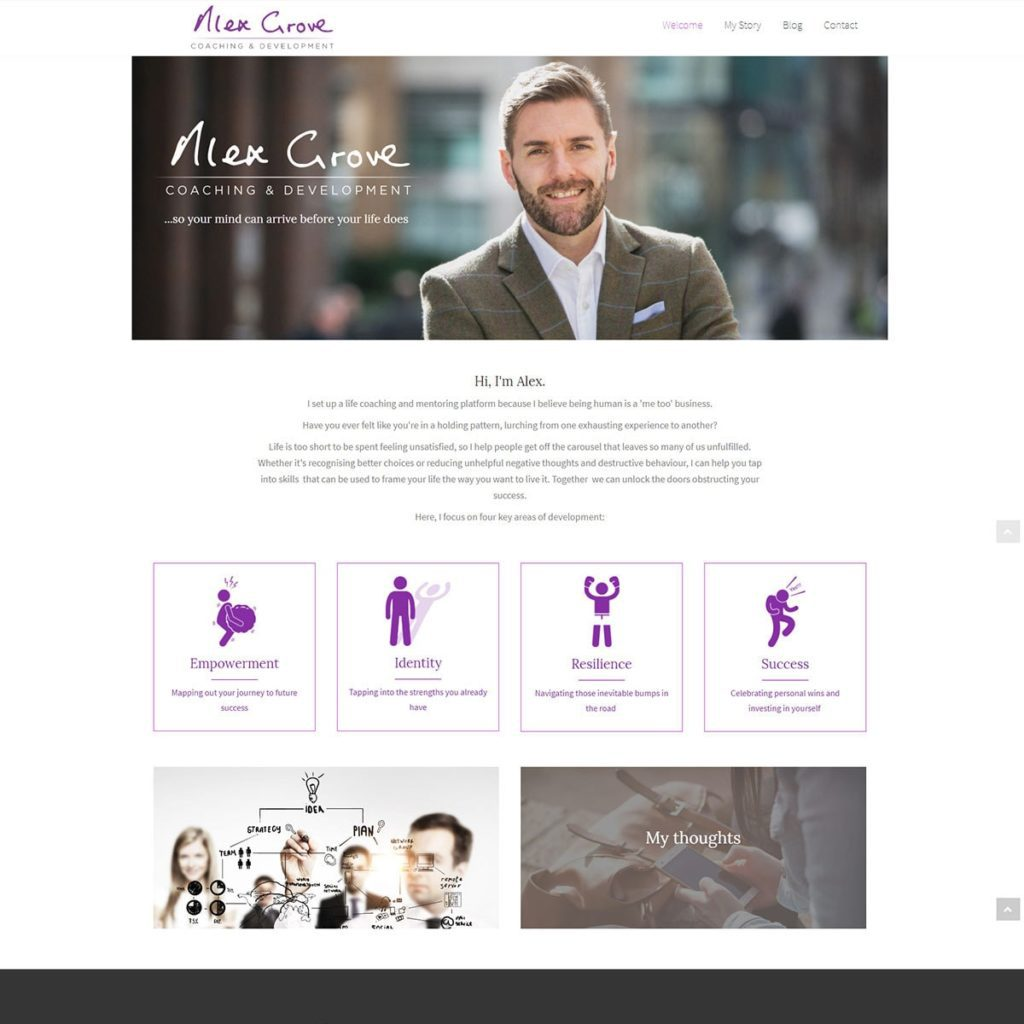 Life Coaching Website Design Healthhosts Websites For Therapists