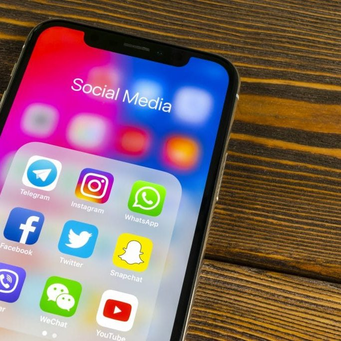 Instagram, Twitter or Facebook